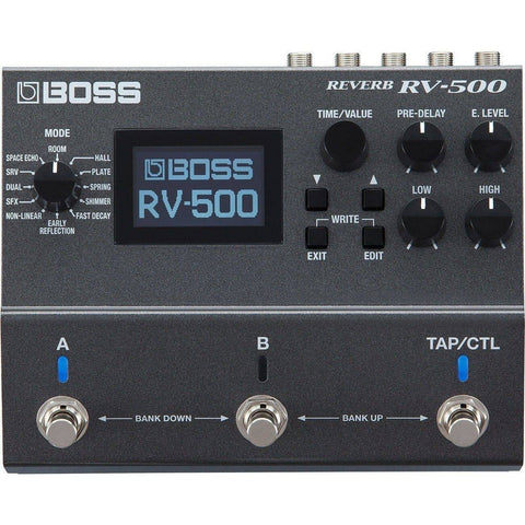 Image of BOSS RV500 Digital Reverb - Music 440
