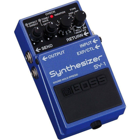 Image of BOSS SY1 Synthesizer Pedal - Music 440