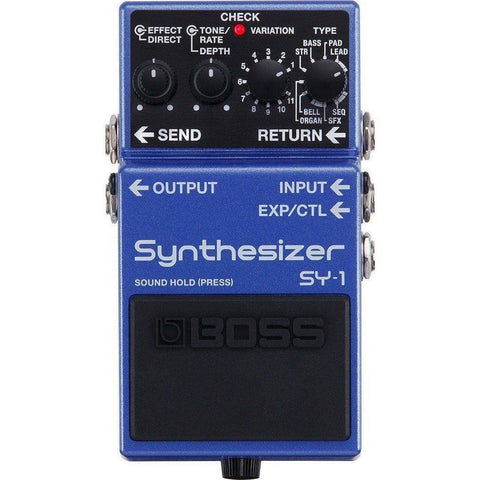 BOSS SY1 Synthesizer Pedal - Music 440