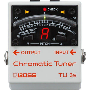 Boss TU3S Chromatic Small Footprint Stage Tuner - Music 440