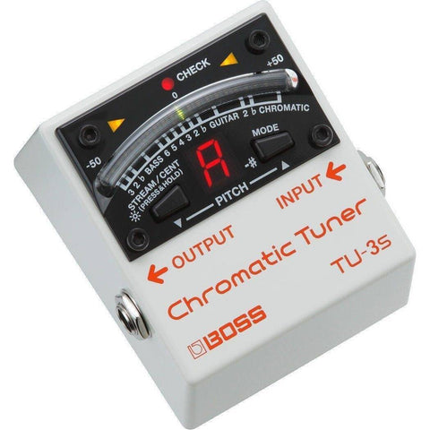 Image of Boss TU3S Chromatic Small Footprint Stage Tuner - Music 440