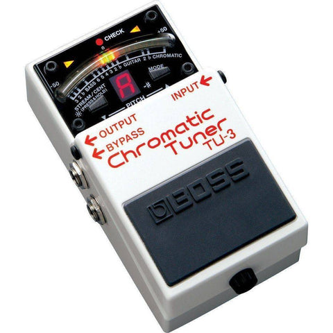 Image of Boss TU3 Chromatic Pedal-Style Stage Tuner - Music 440