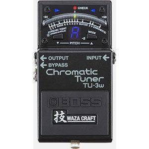 BOSS TU3W Chromatic Tuner Pedal - Music 440