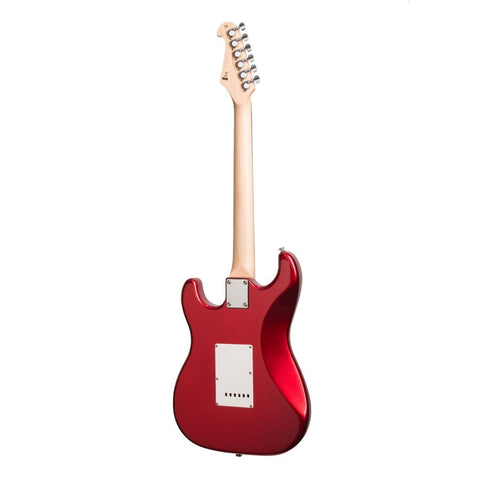 Image of Casino ST-Style Electric Guitar Set - Candy Apple Red - Music 440
