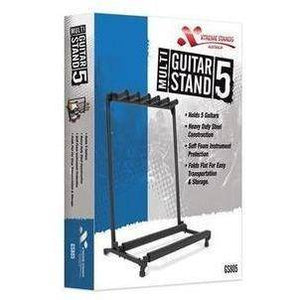 Xtreme GS805 5 Guitar Multi-Stand - Music 440