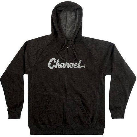 Image of Charvel Logo Hoodie, Charcoal, XL - Music 440