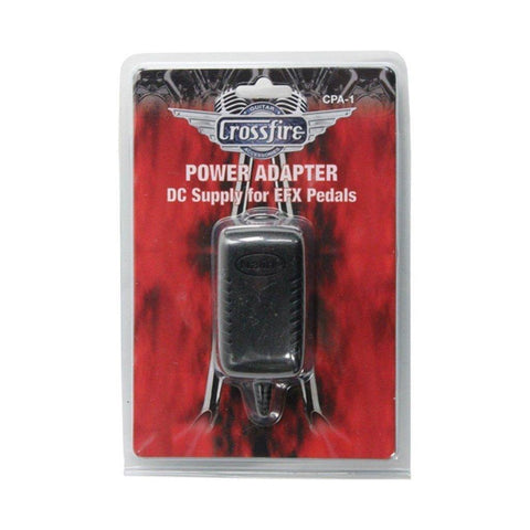 Crossfire 9 Volt Power Supply for Effects Pedals - Tip Negative - Music 440