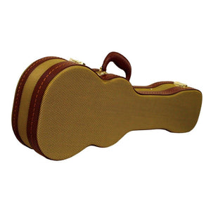 DCM VTW-C Concert Ukulele Wood Case - Tweed - Music 440