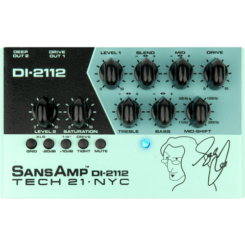Image of Sansamp Tech 21 NYC Geddy Lee DI-2112 - Music 440