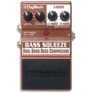 Digitech Bass Squeeze Compressor Pedal - Music 440