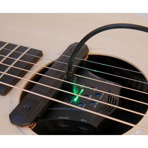 Double G0 Guitar Soundhole Pickup w/Built In Effects - Music 440