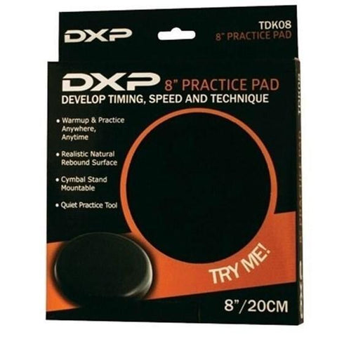 "Image of DXP TDK08 8"" Practice Pad - Music 440"