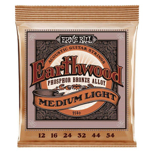 Ernie Ball Earthwood Phosphor Bronze Acoustic Guitar Strings - Various Gauges - Music 440