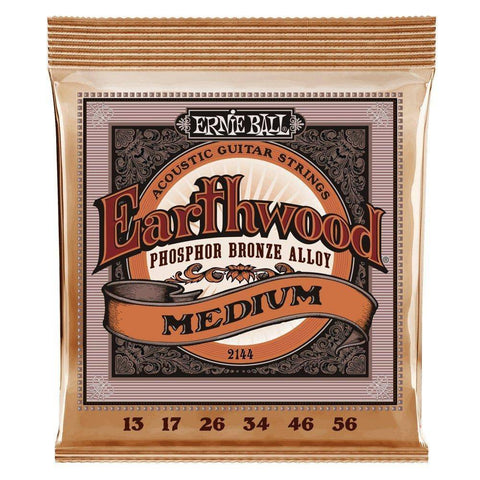 Image of Ernie Ball Earthwood Phosphor Bronze Acoustic Guitar Strings - Various Gauges - Music 440
