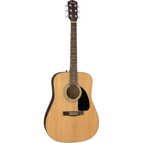 Fender FA-115 Dreadnought Pack, Walnut Fingerboard - Natural - Music 440