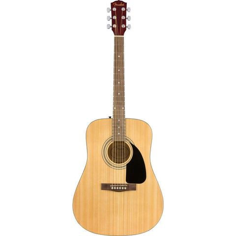 Image of Fender FA-115 Dreadnought Pack, Walnut Fingerboard - Natural - Music 440