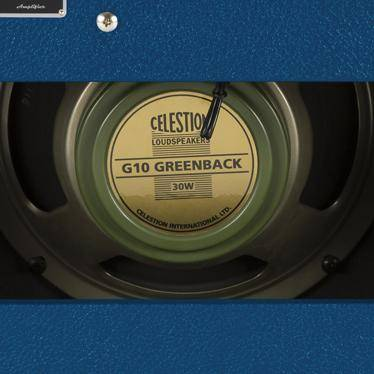 Image of Fender Limited Edition '68 Custom Princeton Reverb Guitar Amp - Navy Blue FSR - Music 440