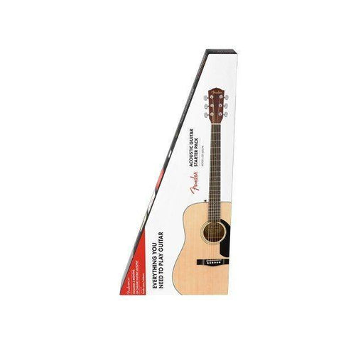 Fender CD-60S Dreadnought Pack V2 - Natural - Music 440