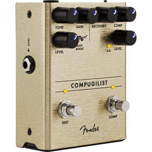 Fender Compugilist Compressor-Distortion Pedal - Music 440