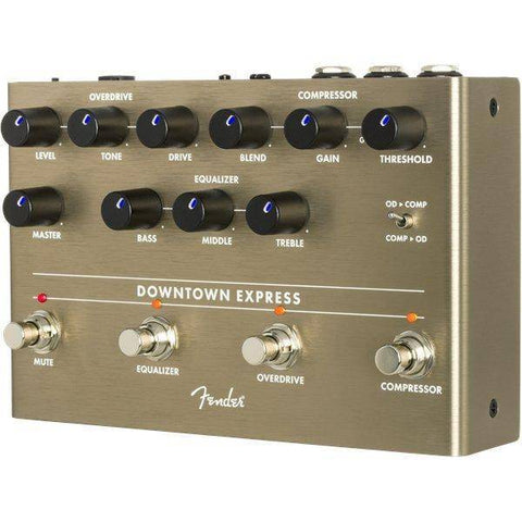 Image of Fender Downtown Express Bass Multi Effect Pedal - Music 440