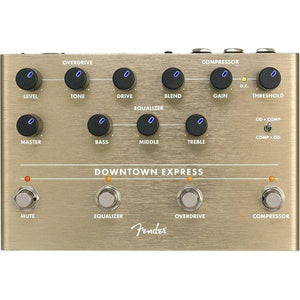 Fender Downtown Express Bass Multi Effect Pedal - Music 440
