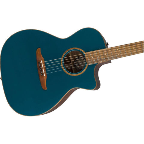 Image of Fender Newporter Classic w/Bag, Pau Ferro Fingerboard - Cosmic Turquoise - Music 440
