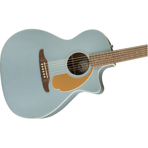 Image of Fender Newporter Player Acoustic Guitar - Ice Blue Satin - Music 440