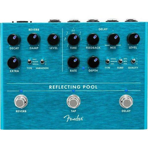 Image of Fender Reflecting Pool Delay-Reverb - Music 440