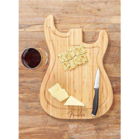 Fender Stratocaster Cutting Board - Music 440