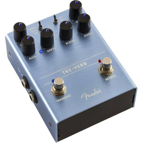 Image of Fender Tre-Verb Digital Reverb-Tremolo - Music 440