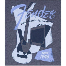 Load image into Gallery viewer, Fender Vintage Geo 1946 T-Shirt, Blue, M - Music 440