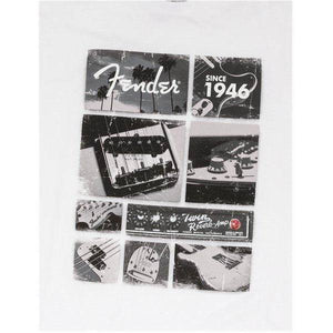 Fender Vintage Parts T-Shirt, White, XL - Music 440