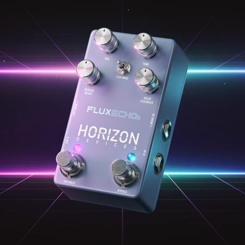 Image of Horizon Devices Flux Echo Delay & Reverb Pedal - Music 440