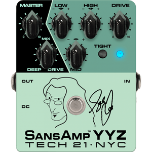 Sansamp Tech 21 NYC YYZ Geddy Lee Signature - Music 440