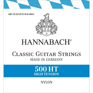 HANNABACH High Tension 500HT Classical Guitar Strings - Music 440