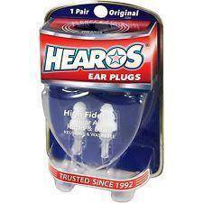 Hearos High Fidelity Series - Re-Usable Ear Plugs - Music 440