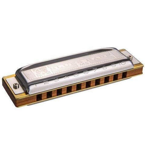 Image of Hohner Blues Harp Diatonic 10-Hole Harmonica - Music 440