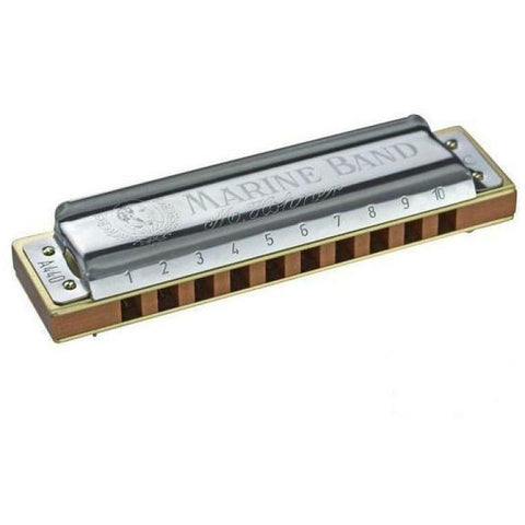 Image of Hohner Marine Band 1896 Classic Diatonic 10-Hole Harmonica - Music 440