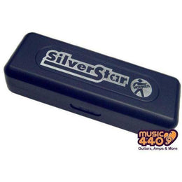 Load image into Gallery viewer, Hohner Silver Star 10-Hole Diatonic Harmonica - Music 440