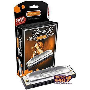 HOHNER SPECIAL 20 Diatonic 10-Hole Harmonica - Music 440