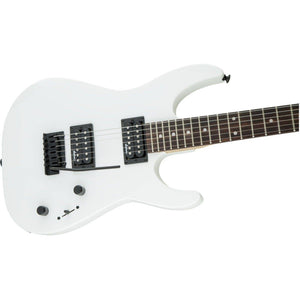 Jackson JS Series Dinky JS11, Amaranth Fingerboard - Snow White - Music 440