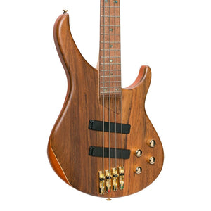 J&D Luthiers 21 Series 4-String Contemporary Active Electric Bass Guitar - Natural Satin - Music 440