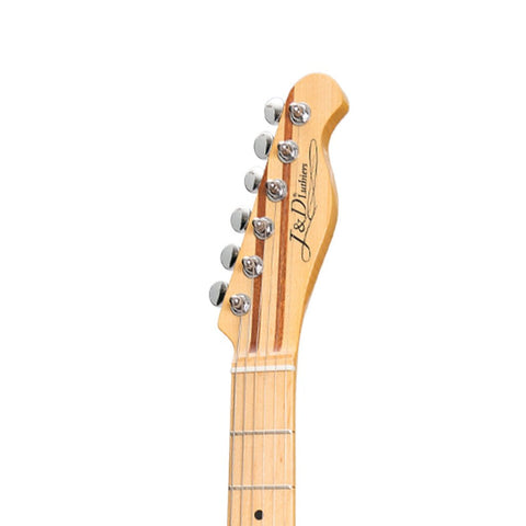 Image of J&D Luthiers TE-Style Electric Guitar - Honey Burst - Music 440