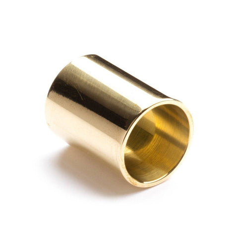 Image of Jim Dunlop 223 Brass Slide – Medium Thickness, Knuckle - Music 440