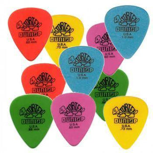 Jim Dunlop Tortex Picks - Assorted 12 Pack - Music 440