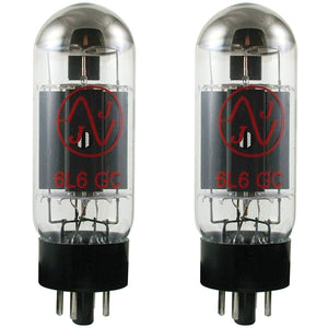 JJ Electronic 6L6 Matched Pair of Power Tubes - Music 440