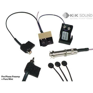 K&K Sound Pre-Phase Preamp Add-On - Music 440