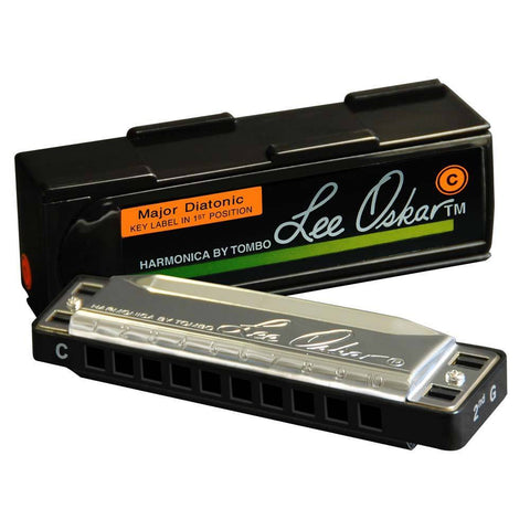 Lee Oskar Major Diatonic 10-Hole Harmonica - Music 440