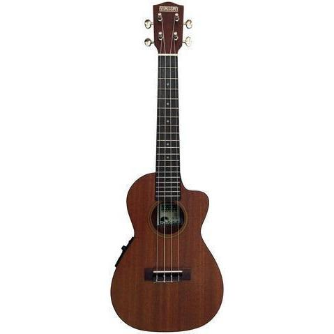 Image of Makai CK-65 Mahogany Series With Pickup Cutaway Concert Ukulele - Music 440