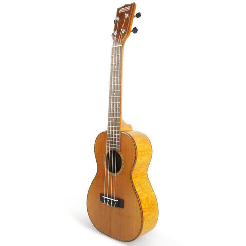 Image of Makai Limited Solid Cedar Willow Concert Ukulele LC-80W - Music 440